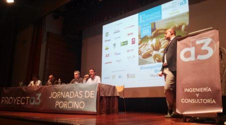 Éxito de la II Jornada del sector porcino celebrada por Proyectaa3